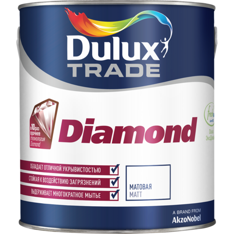 Краска Dulux Diamond Extra Matt
