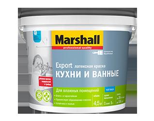 Краска Marshall Export Кухни и Ванные