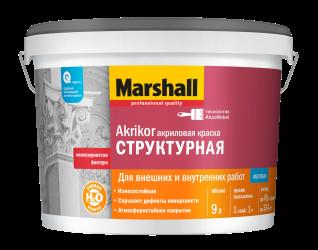 Краска Marshall Akrikor Структурная