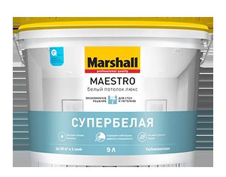 Краска Marshall Maestro Белый Потолок