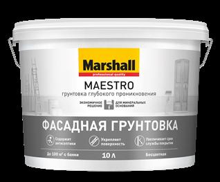 Грунтовка Marshall Maestro Фасадная