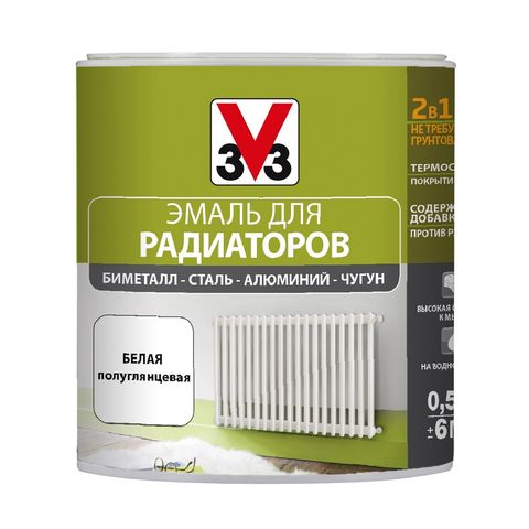Краска V33 Renovation Perfection для Радиаторов