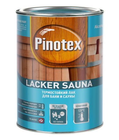 Лак Pinotex Lacker Sauna 20