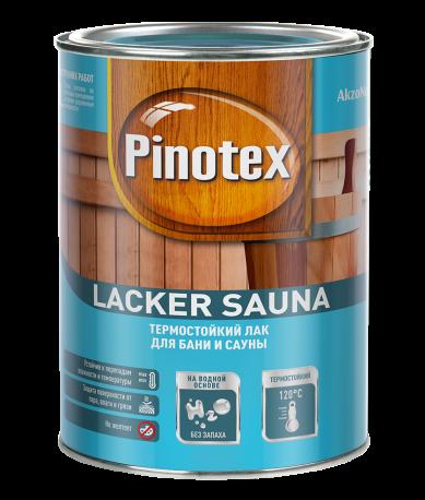 Лак Pinotex Lacker Sauna20