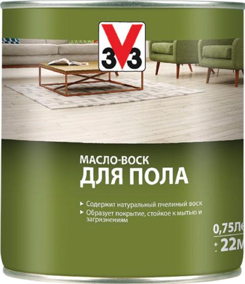 Масло-Воск V33 для Пола