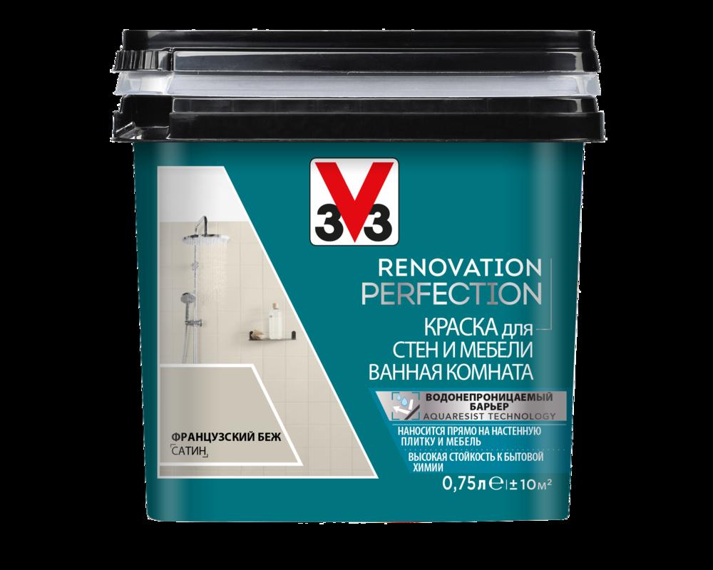 Краска V33 Renovation Perfection Ванная Комната
