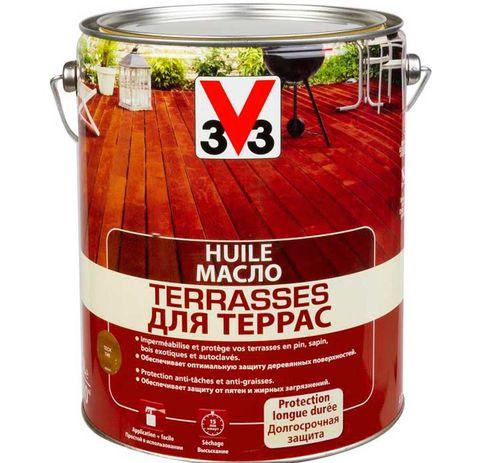 Масло V33 для Террас